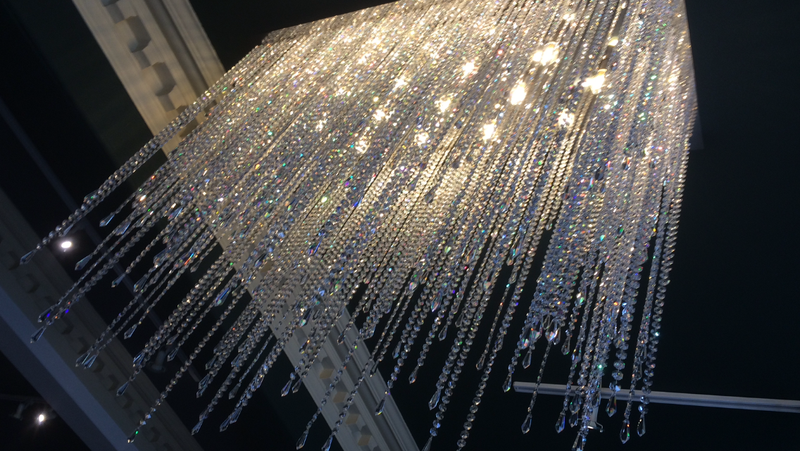 Fringe - 13 light crystal chandelier