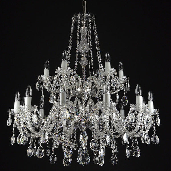 Contessa - 18 arm crystal chandelier