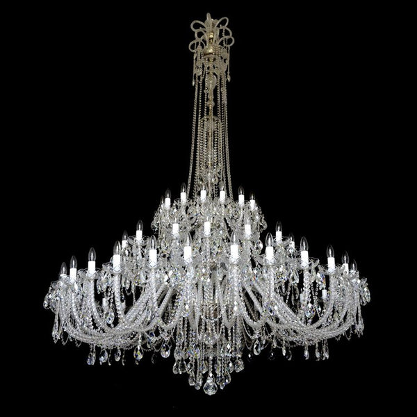 60 Light Crystal Chandelier - Princess-Luxury Lighting Boutique