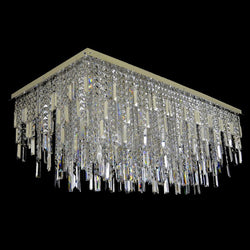 16 Light Crystal Chandelier - Rain-Luxury Lighting Boutique