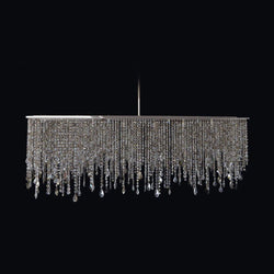 6 Light Crystal Chandelier - Juna-Luxury Lighting Boutique