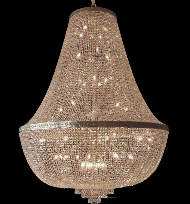 Basket chandelier - 42 light