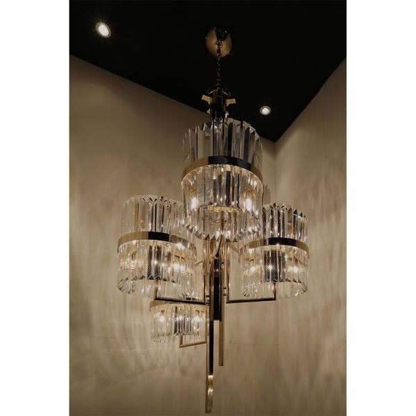 30 Light Liberty II Chandelier - Luxxu-Luxury Lighting Boutique