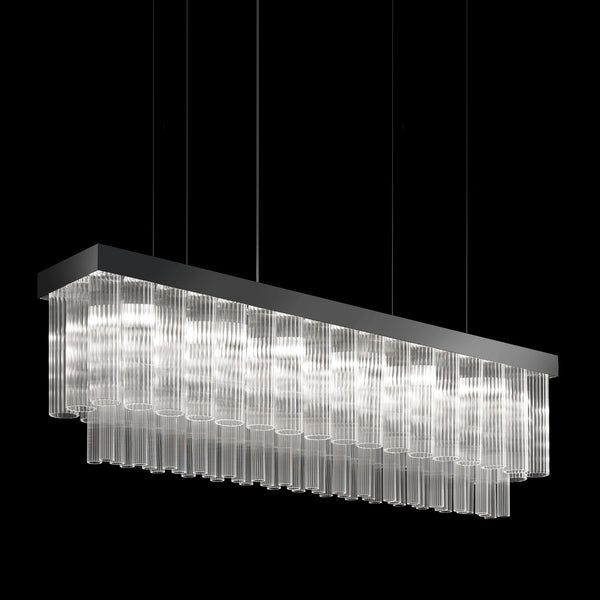6 Light Suspended Chandelier - Masiero VE 1152/S6 LN