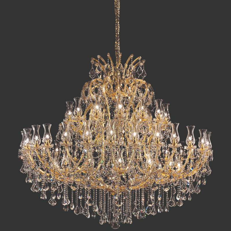56 Light Maria Theresa Chandelier - Masiero VE 905/56 MT-Luxury Lighting Boutique
