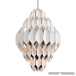 Haiku L Pendant - 254-49-CE - Corbett Lighting