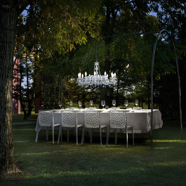 Outdoor & Bathroom Rated 12 Light Chandelier - Masiero Drylight S12-Luxury Lighting Boutique