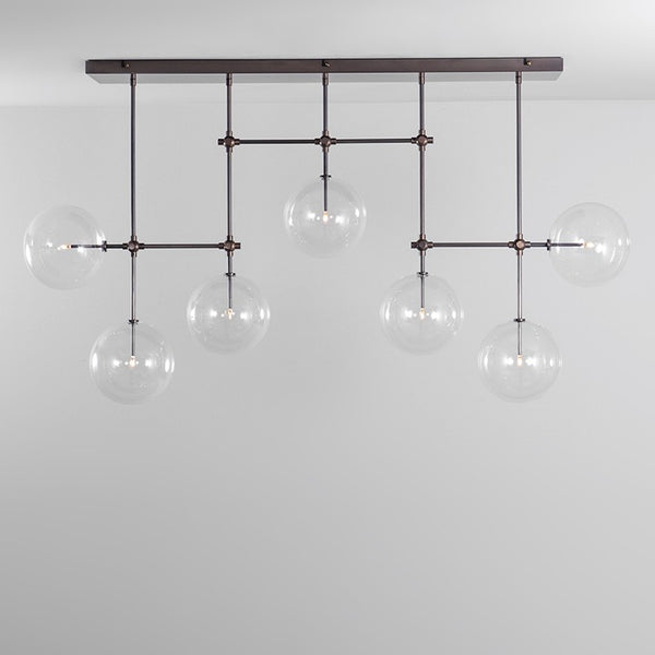 7 Light Soap B7 Chandelier Medium - Schwung-Luxury Lighting Boutique