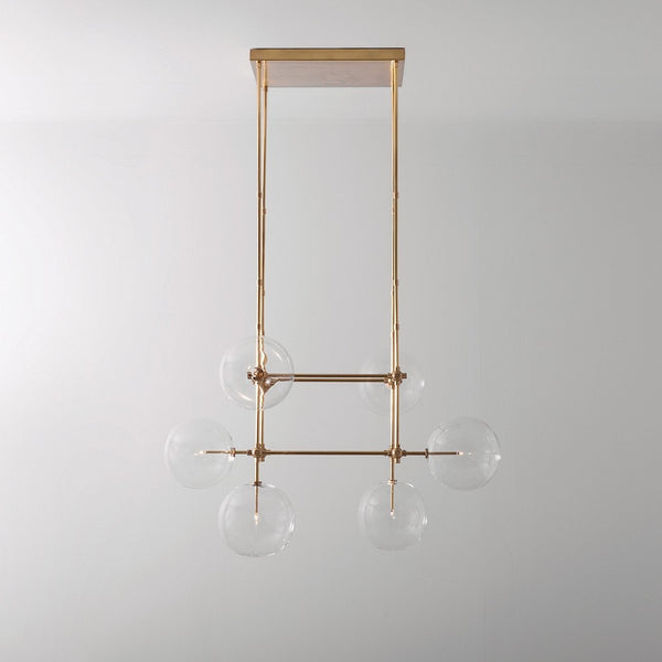 6 Light Soap DT6 Chandelier - Schwung-Luxury Lighting Boutique