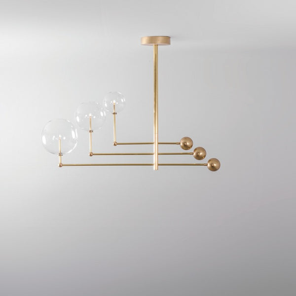 3 Light Universe Chandelier - Schwung-Luxury Lighting Boutique