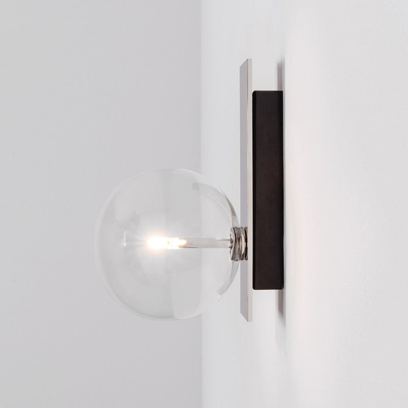 Oslo Single Wall Sconce - Schwung-Luxury Lighting Boutique