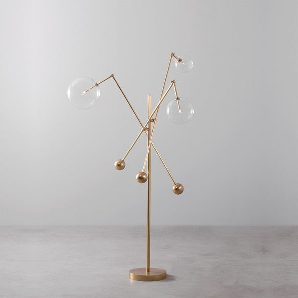Milan 3 Arm Floor Lamp - Schwung-Luxury Lighting Boutique