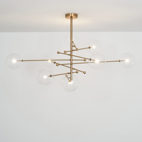 8 Light RD15 Chandelier - Schwung-Luxury Lighting Boutique