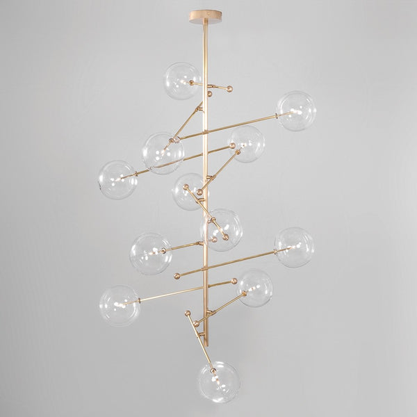 12 Light RD15 Chandelier - Schwung-Luxury Lighting Boutique