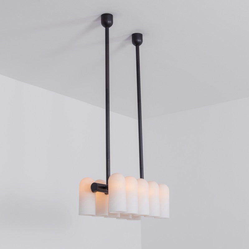 10 Light Odyssey Linear Chandelier XS - Schwung