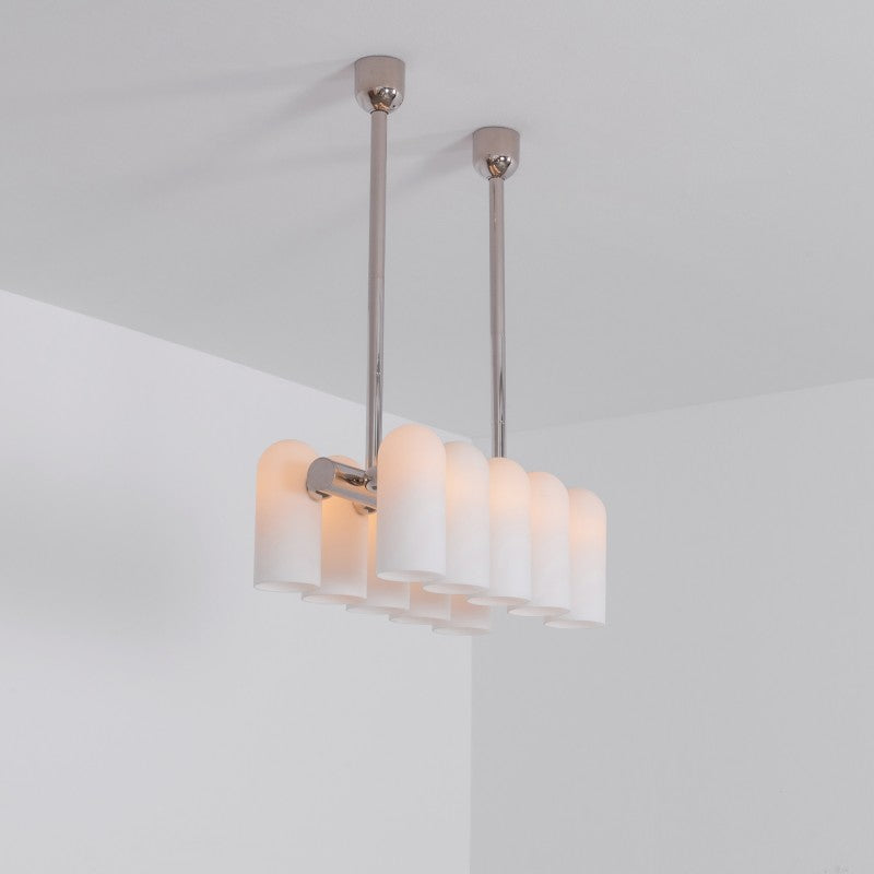 10 Light Odyssey Linear Chandelier XS - Schwung-Luxury Lighting Boutique