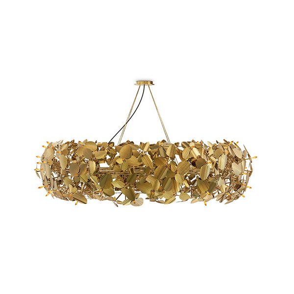 18 Light McQueen Round Suspension Chandelier - Luxxu-Luxury Lighting Boutique