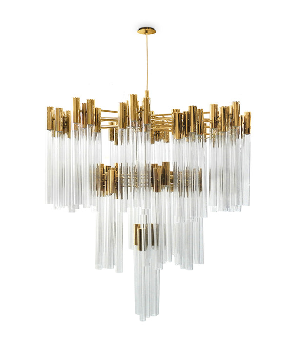 114 Light Burj Chandelier - Luxxu-Luxury Lighting Boutique