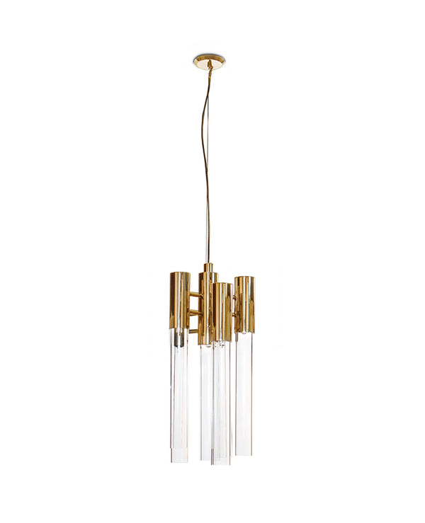 6 Light Burj Pendant - Luxxu-Luxury Lighting Boutique
