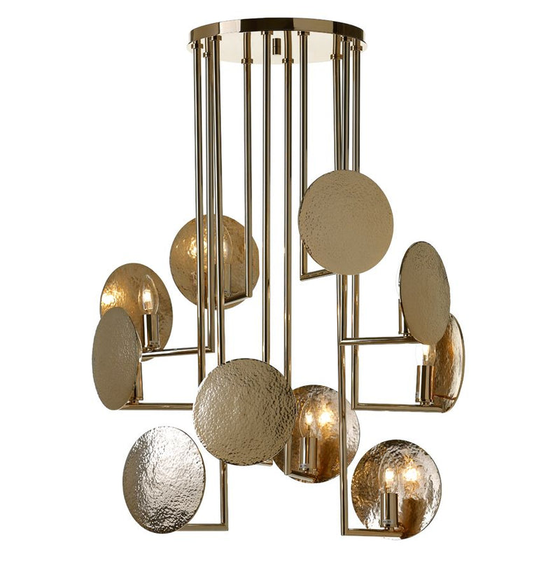 Grant 10 Light Chandelier - Villa Lumi