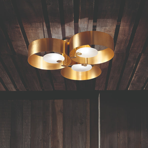 Modern 3 Light Ceiling Mounted Pendant - Masiero Sound PL3