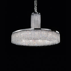 12 Light Crystal Pendant Chandelier - Masiero VE815 12+1