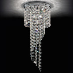 6 Light Ceiling Mounted Pendant - Masiero VE840/PL6-Luxury Lighting Boutique
