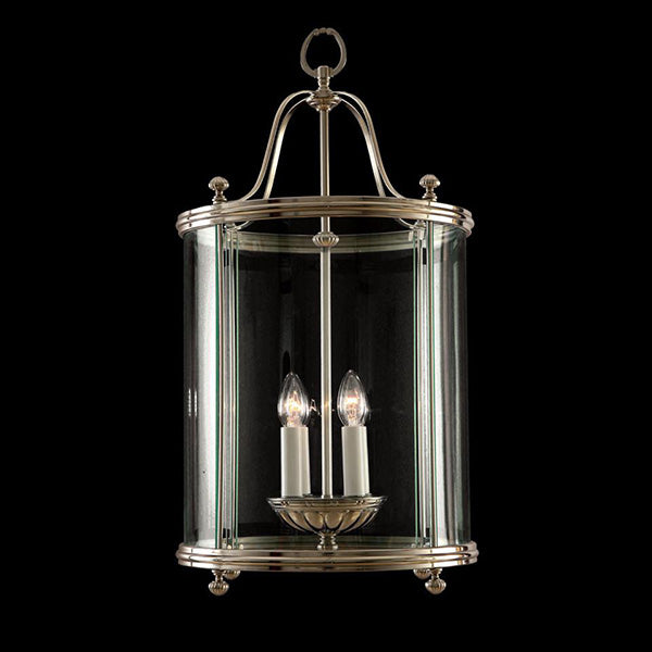 4 Light Silver Hall Lantern - Martinez Y Orts-Luxury Lighting Boutique