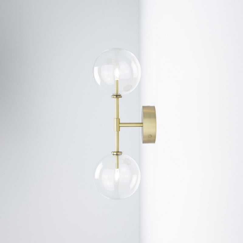 Dawn Dual Wall Sconce - Schwung-Luxury Lighting Boutique
