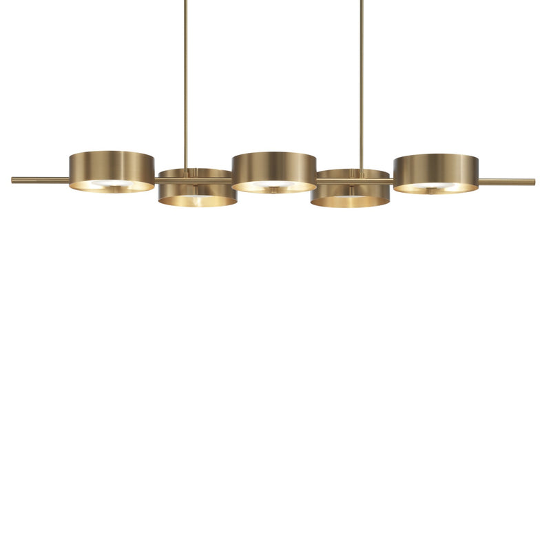 Modern 5 Light Chandelier - Masiero Sound BIL5-Luxury Lighting Boutique