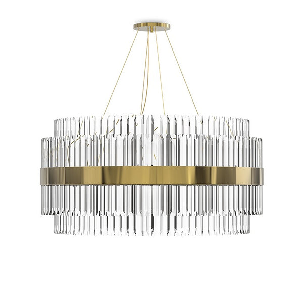 24 Light Liberty Suspension Chandelier - Luxxu-Luxury Lighting Boutique