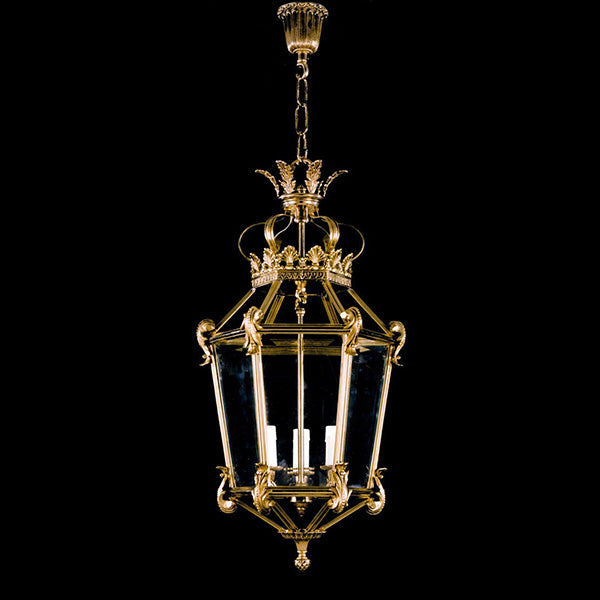3 Light Hall Lantern - Martinez Y Orts-Luxury Lighting Boutique