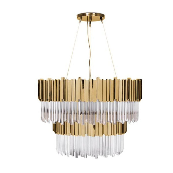 32 Light Empire II Suspension Chandelier - Luxxu-Luxury Lighting Boutique