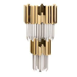 5 Light Empire Wall Sconce - Luxxu-Luxury Lighting Boutique
