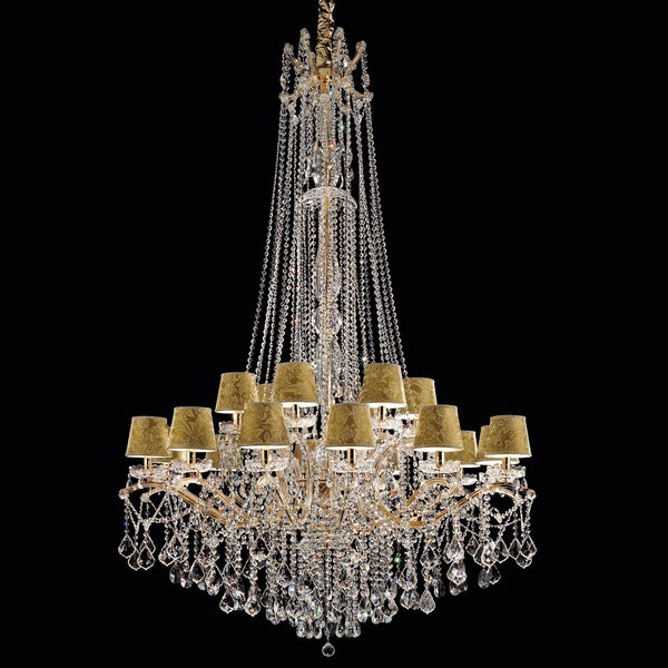 18 Light Maria Theresa Chandelier - Masiero VE 987/18 MT-Luxury Lighting Boutique