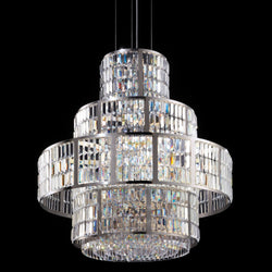 16 Light Crystal Basket Chandelier - Masiero VE 764/S16-Luxury Lighting Boutique
