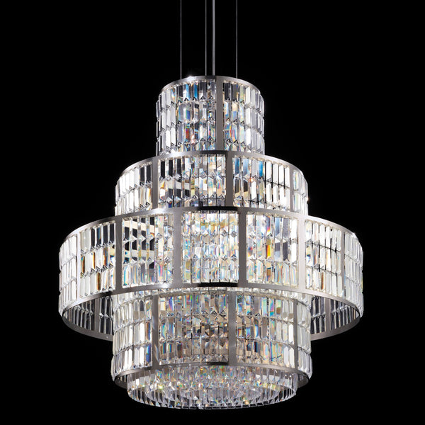 16 Light Crystal Basket Chandelier - Masiero VE 764/S16