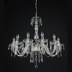 Sympatico - 12 Arm Crystal Chandelier