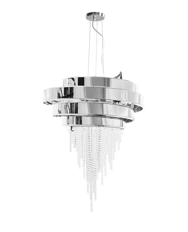 24 Light Guggenheim Chandelier - Luxxu-Luxury Lighting Boutique