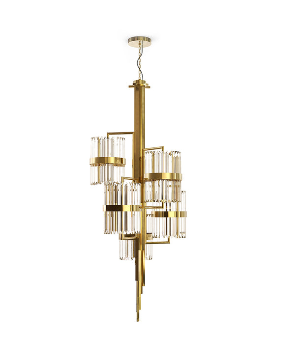 40 Light Liberty Chandelier - Luxxu-Luxury Lighting Boutique