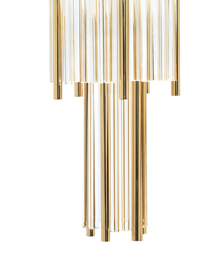 6 Light Pharo II Wall Sconce - Luxxu-Luxury Lighting Boutique