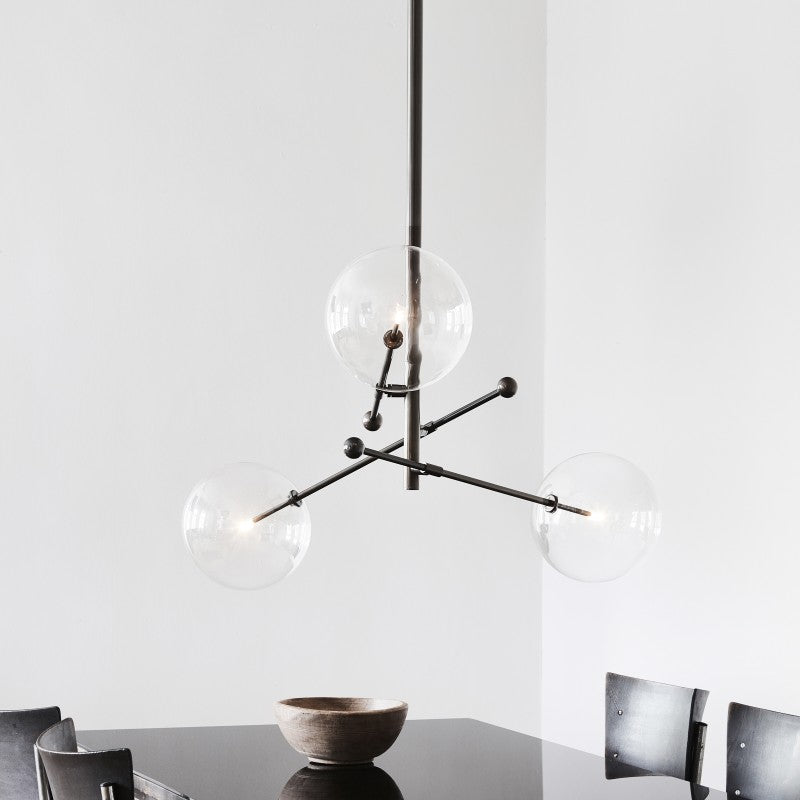 3 Light RD15 Chandelier - Schwung-Luxury Lighting Boutique