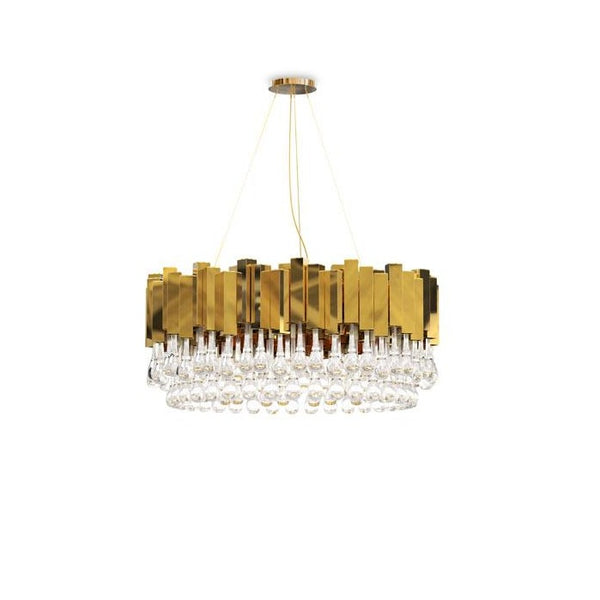24 Light Trump Suspension Chandelier - Luxxu-Luxury Lighting Boutique