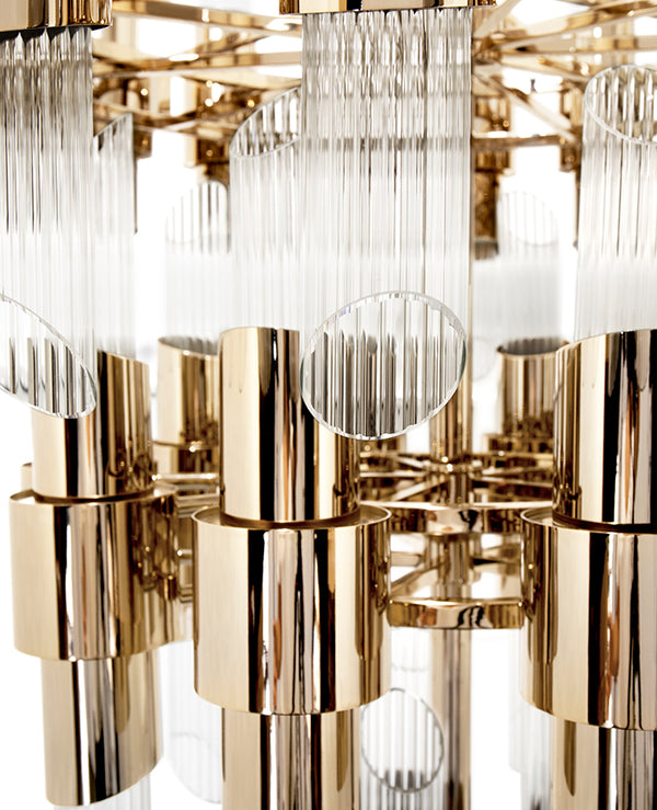 70 Light Tycho Chandelier - Luxxu-Luxury Lighting Boutique