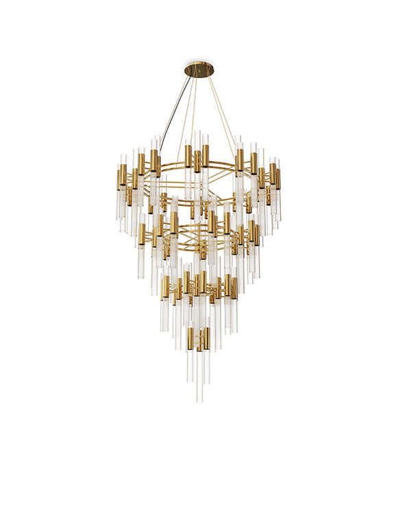 168 Light Waterfall Chandelier - Luxxu-Luxury Lighting Boutique