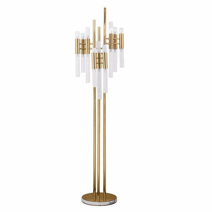 18 Light Waterfall Floor Lamp - Luxxu-Luxury Lighting Boutique