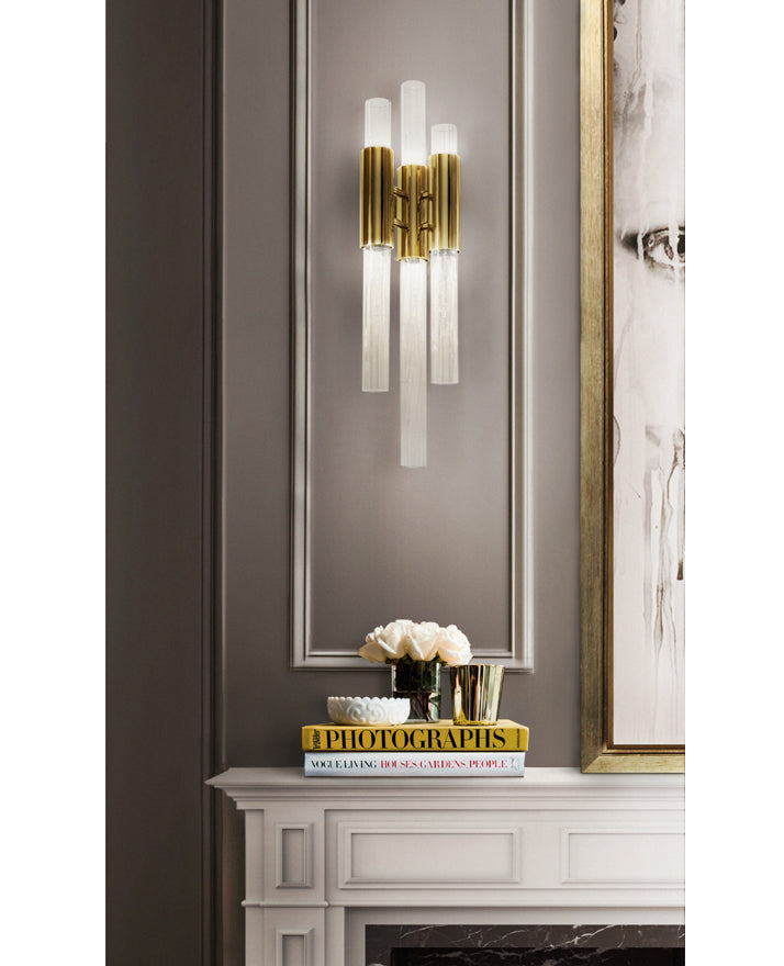 6 Light Waterfall Wall Sconce - Luxxu-Luxury Lighting Boutique