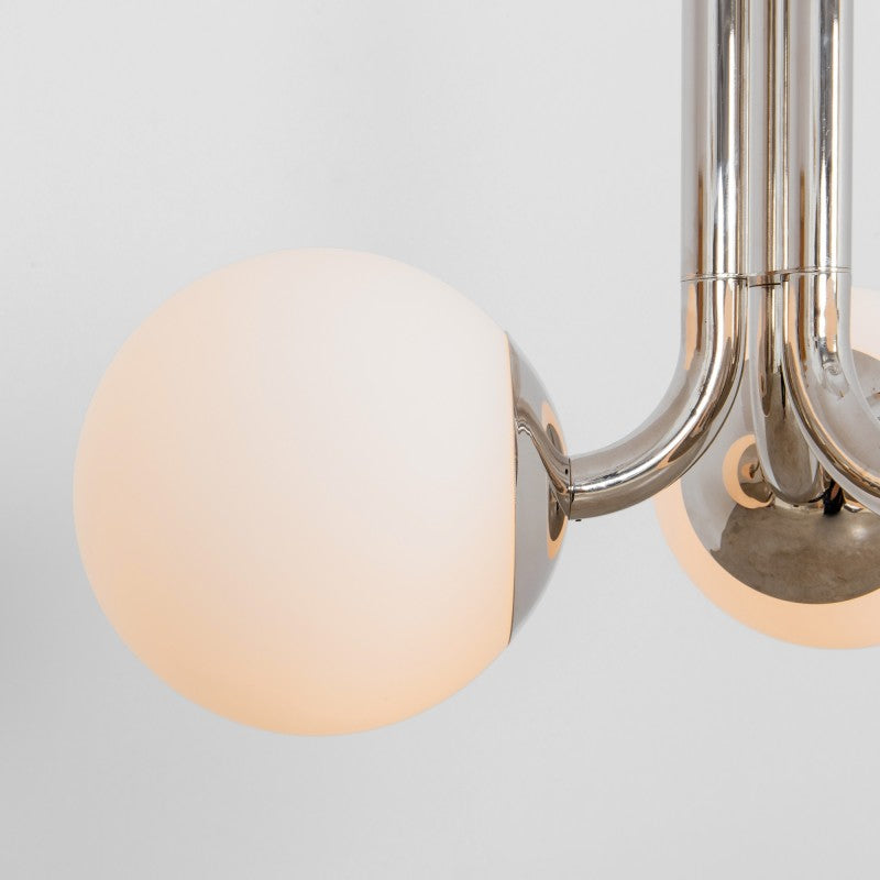 3 Light Tubular 500 Chandelier - Schwung-Luxury Lighting Boutique