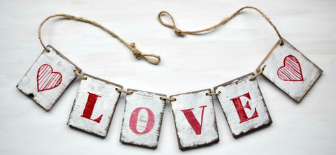Love and Heart Garland