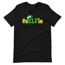 Load image into Gallery viewer, ELF Selfie Funny Christmas T-Shirt